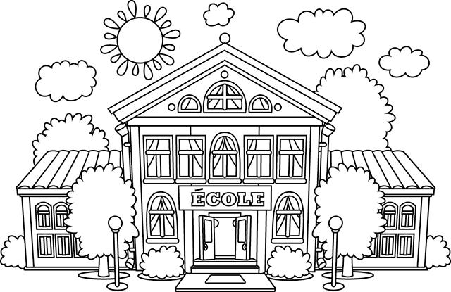 Coloriage Kermesse Ecole.Ecole Villa Helene